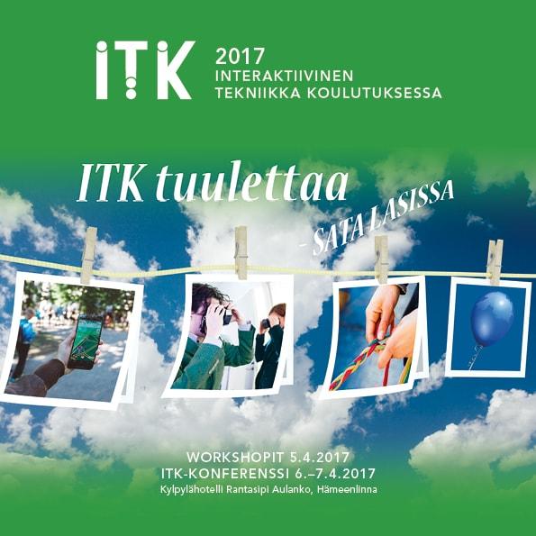 ITK 2017 -tapahtuman juliste